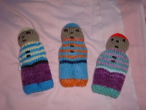 small dressed person £3 each