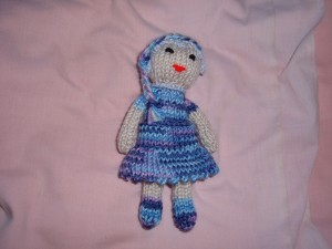 small dressed girl £4 each