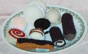 Assortment of cakes £2.50 each