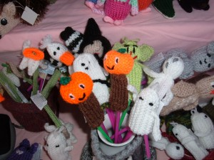 Hallow'en finger puppets